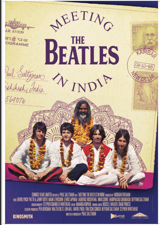 Meeting The Beatles In India poster