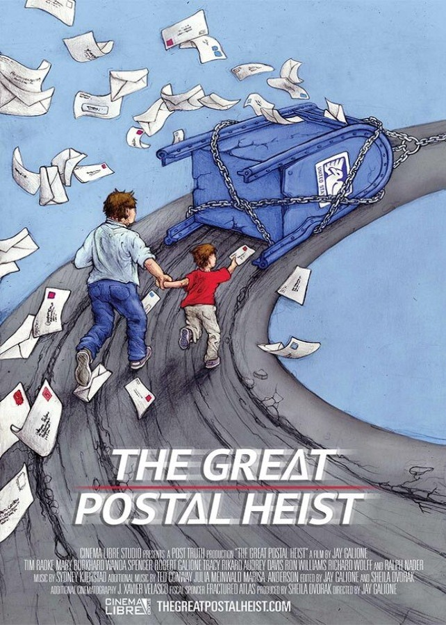 The Great Postal Heist poster