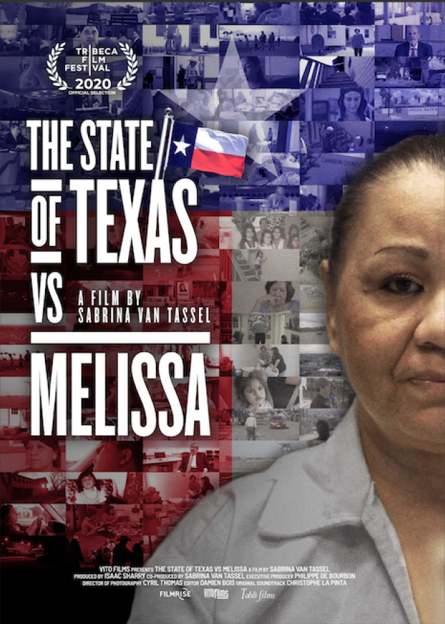 The State of Texas vs Melissa poster